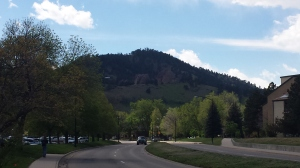 View during my Boulder run. Wanting to move here, ASAP.